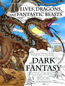 Elves Dragons and Fantastic Beasts Cover 2